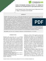 2010 Management of Auxin Citokinin Interaction