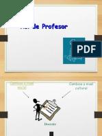 Rol Profesor