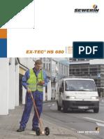 EX-TEC® HS 680 detector de fugas