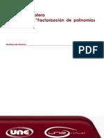 Practica No. 5 Factorización de Polinomios (2a Parte)