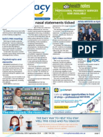 Pharmacy Daily for Wed 10 Sep 2014 - OTC nasal statements ticked, Chinese medical register check, E-cigs = regular cigs, MIMS update, Health & Beauty and much more