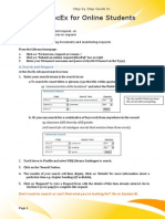 Step by Step Docex Guide for Online Students 2013