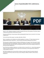 Documents show dozens of questionable GSA conferences, millions in bonuses