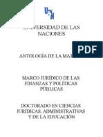 Marco Jurídico de Las Finanzas y Políticas Públicas