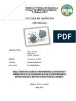 Trabajo de Inmunologia Grupo 1 2do Trimestre