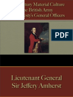 Military - British Army - General Officers 1730 - 1785