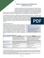 PARCC Technical Resources Guide