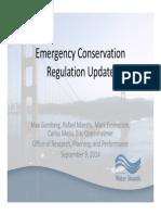 Sept 9 Board Board Presentation Item 9 Water Conservation Update