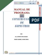 Manual- Construccion de Espectros