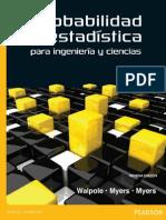Probabilidad y Estadística Para Ingeniería y Ciencias Walpole 9a Ed
