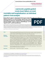Effect of B-type Natriuretic Peptide-guided