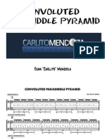 Convolutued Paradiddle Pyramid