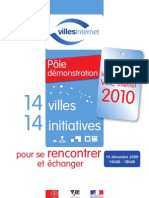 Pôle démonstration du 11 Label Ville Internet