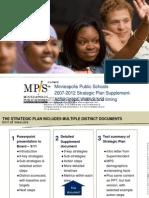 Minneapolis Public Schools 2007 Strategic Plan