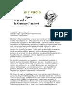 Palabras y Vacío en La Poesia de Flauvert