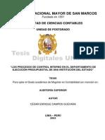 Tesis - Los Procesos de Contro Interno en el Departamento de Ejecución Presupuestal de una Institución del Estado.pdf