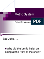 metric system ppt-mine