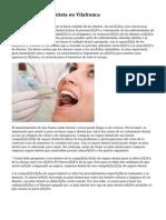 Desventajas de Dentista en Vilafranca