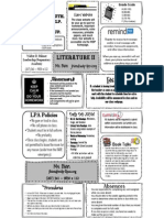 lit ii course guide 2014-15