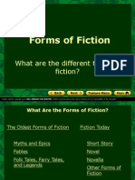 notes - forms of fiction