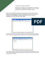 Fundamentos de Programación en Matlab