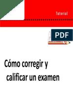 04 Corregir y Calificar Un Examen