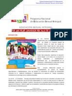Proyecto Educación Sexual Integral S43