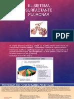El Sistema Surfactante Pulmonar