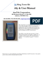 BLUE Rt Assembly Manual