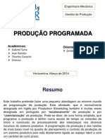 Produção Programada