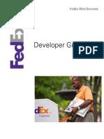 FedExWebServicesDeveloperGuide_v2014