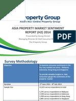 IProperty.com Asia Sentiment Survey H2 2014