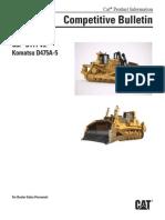 Cat® D11T vs.Komatsu D475A-5