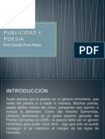 Publicidad y Poesía