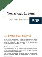 5-TOXICOLOGÍA LABORAL