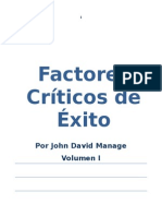 Factores Críticos de Éxito I