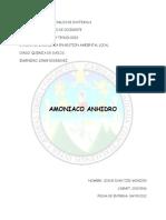 Amoniaco Anhidro