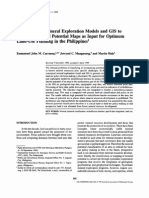 Application of Mineral Exploration Models & GIS to Generate Mineral Potential Maps as Input for Optimum Land-Use Planning in The Philippines.PDF