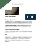 Como Arquivar Documentos