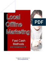 Local Offline Fast Cash Methods
