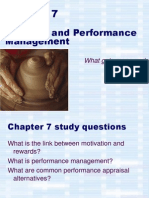 Ch07, Appraising and Rewarding Performance