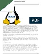 Tutorial Celular Como Modem Bluetooth No Linux Ubuntu