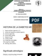 Sesión 41 Diabetes Mellitus Tipo 1