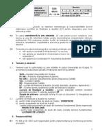 2014 Procedura Elaborare Lucrare Finalizare Studii