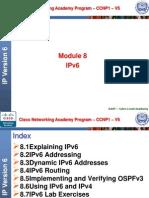 CCNP1 Module 8 IPver6