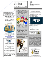 WHGS Newsletter _ Issue 2_ 8 Dec 2009
