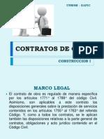 CLASE 14 CONSTRUCCION I -  CONTRATO DE OBRA.pptx