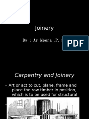 Power Point Presentation On Timber Joinery Galvanization