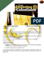 Los Decretos Celestiales
