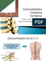 Generalidades Columna Vertebral